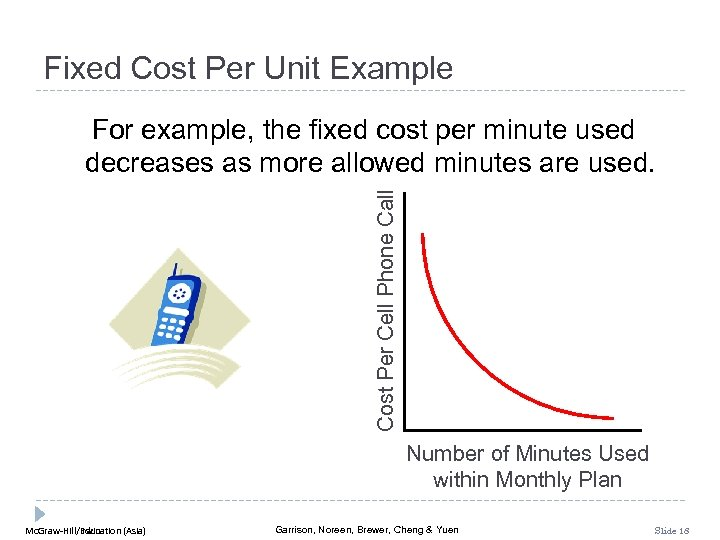 Fixed Cost Per Unit Example Cost Per Cell Phone Call For example, the fixed