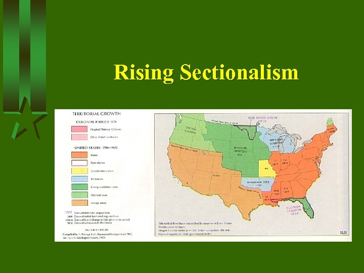Rising Sectionalism