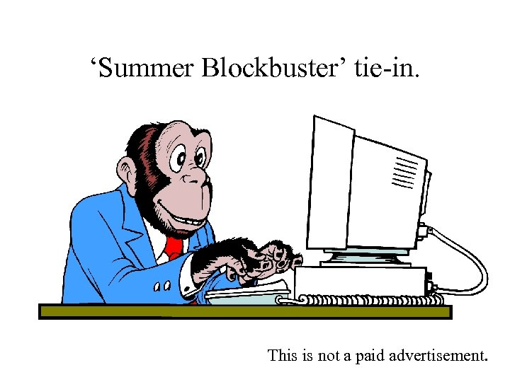 'Summer Blockbuster' tie-in. This is not a paid advertisement.