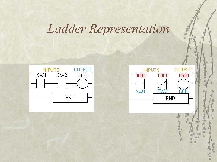 Ladder Representation