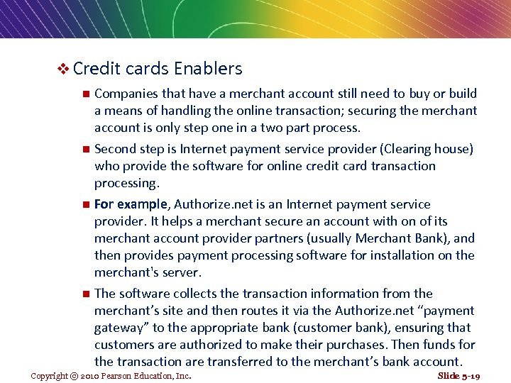 v Credit cards Enablers Companies that have a merchant account still need to buy