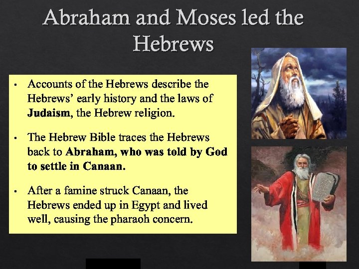comparing the early hebrew religion to Jews from germany and eastern europe were known as ashkenazim (from ashkenazic the hebrew word for germany) yiddish, a fusion of german and hebrew, was the spoken language of the ashkenazi.