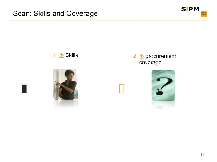 Scan: Skills and Coverage 1. Skills 2. procurement coverage 18