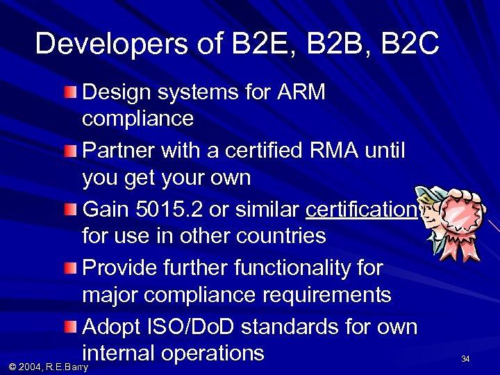 Developers of B 2 E, B 2 B, B 2 C Design systems for