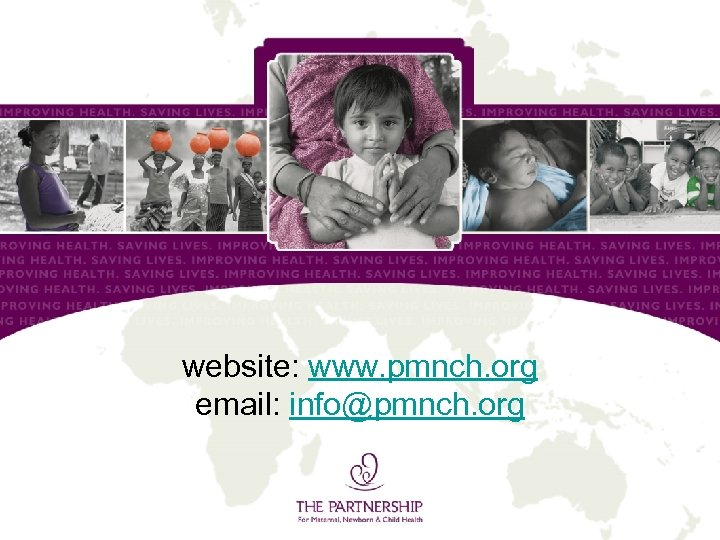 website: www. pmnch. org email: info@pmnch. org