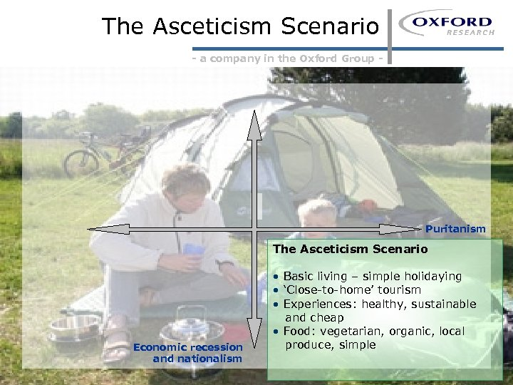 The Asceticism Scenario - a company in the Oxford Group - Puritanism The Asceticism