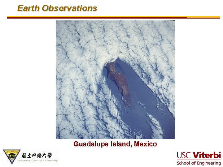 Earth Observations Guadalupe Island, Mexico