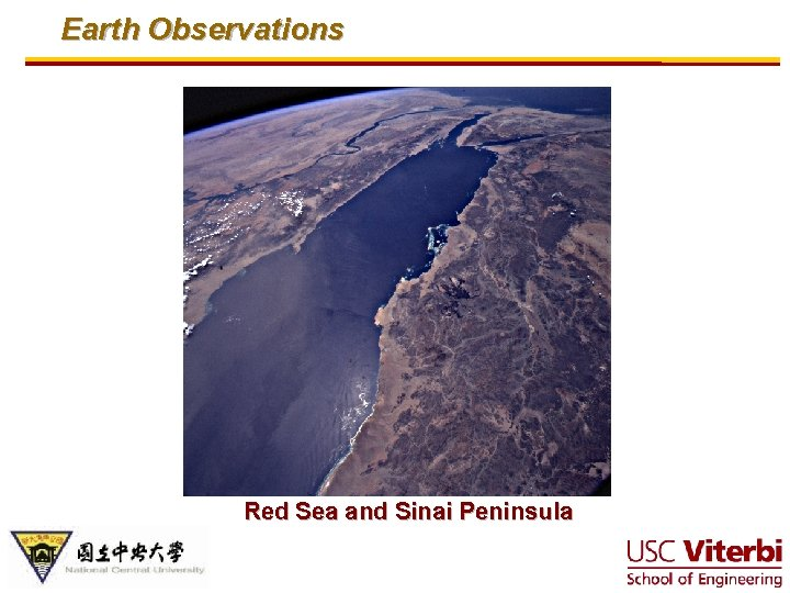 Earth Observations Red Sea and Sinai Peninsula