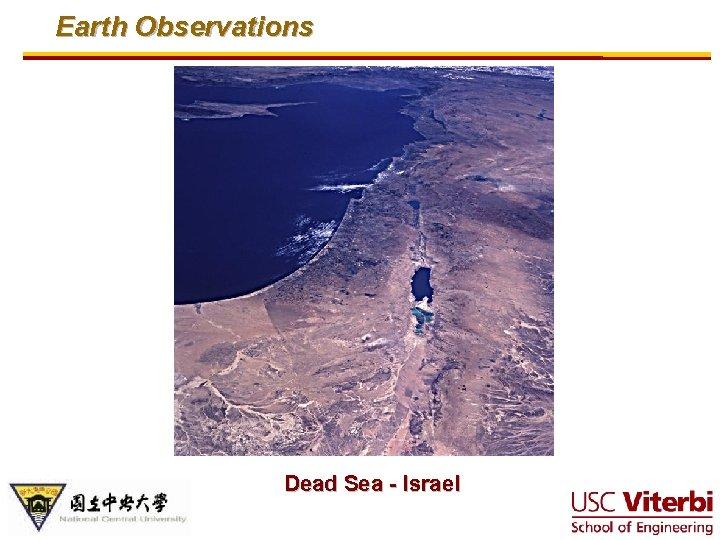 Earth Observations Dead Sea - Israel