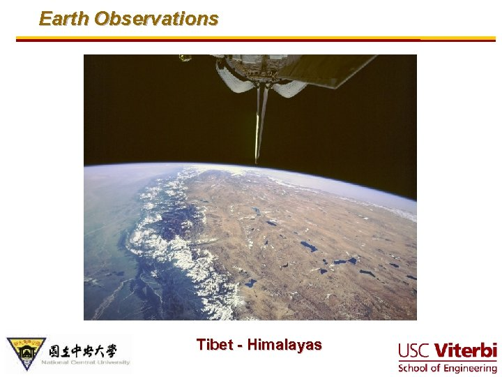 Earth Observations Tibet - Himalayas