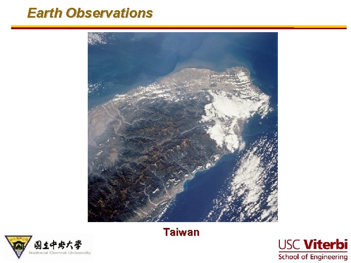 Earth Observations Taiwan