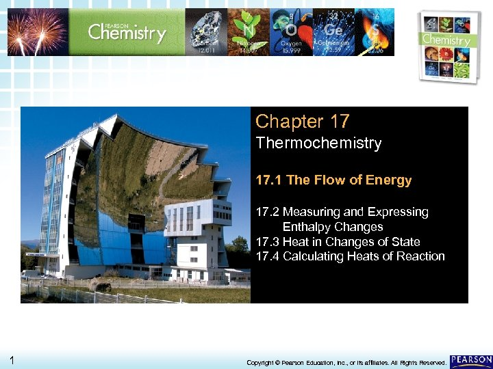 17. 1 The Flow of Energy > Chapter 17 Thermochemistry 17. 1 The Flow