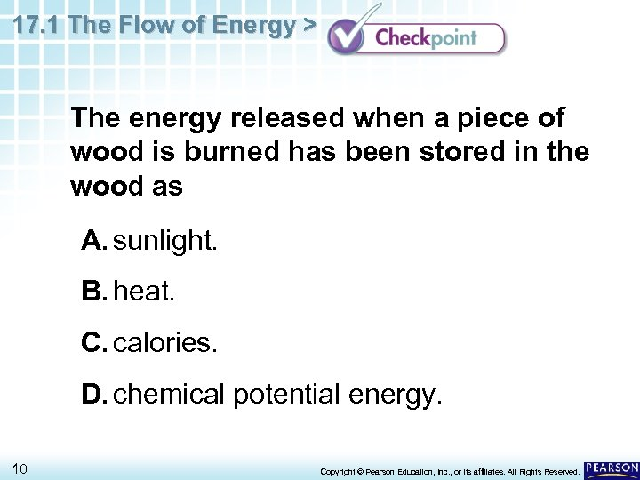 17. 1 The Flow of Energy > The energy released when a piece of