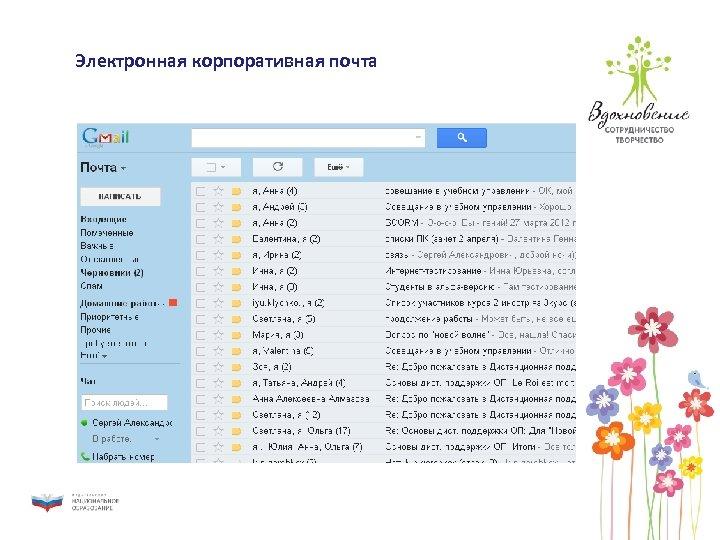 Электронная корпоративная почта