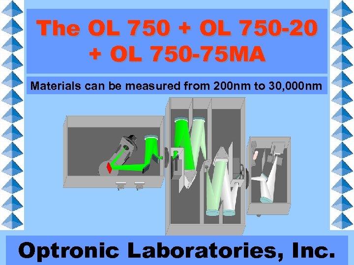 The OL 750 + OL 750 -20 + OL 750 -75 MA Materials can