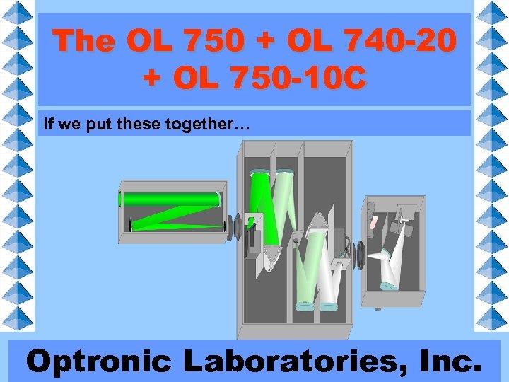 The OL 750 + OL 740 -20 + OL 750 -10 C If we