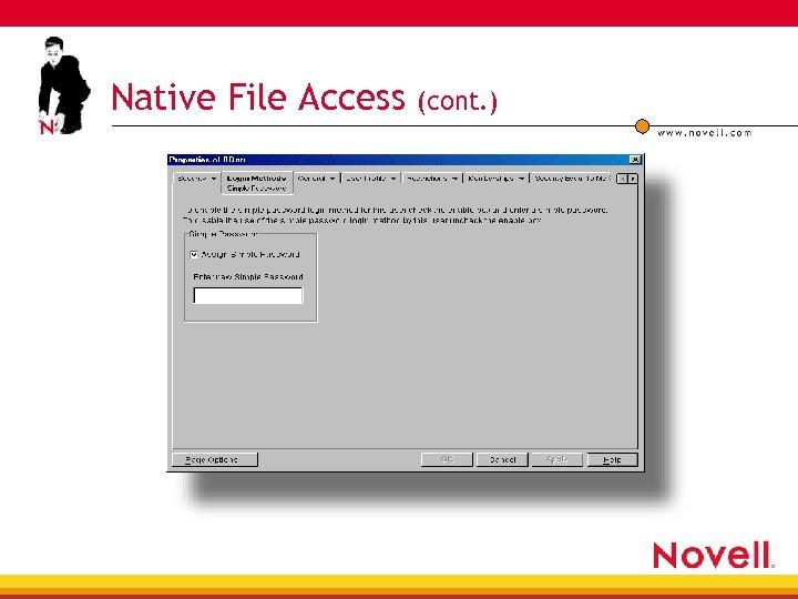 Native File Access (cont. )