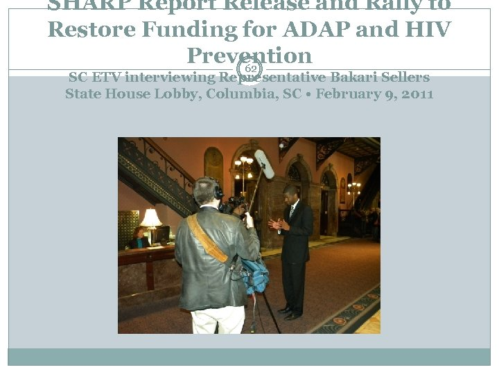 SHARP Report Release and Rally to Restore Funding for ADAP and HIV Prevention 62