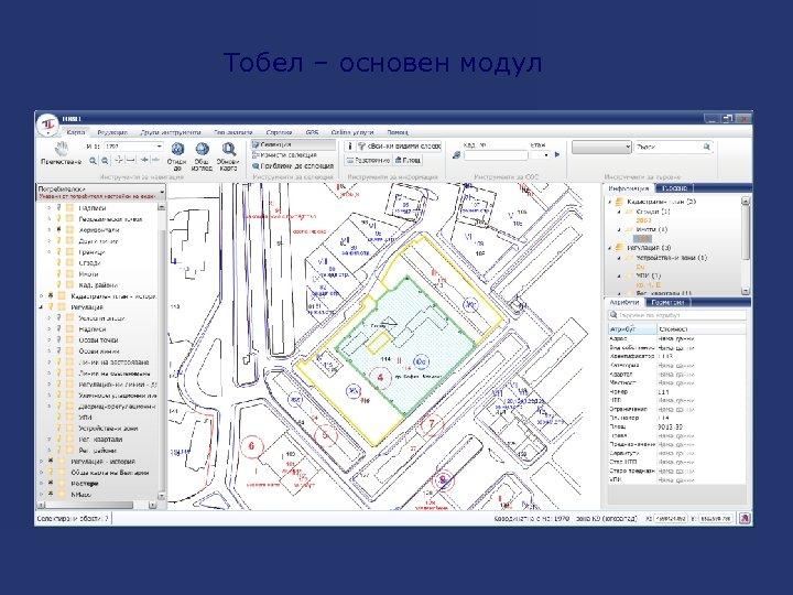 Тобел – основен модул
