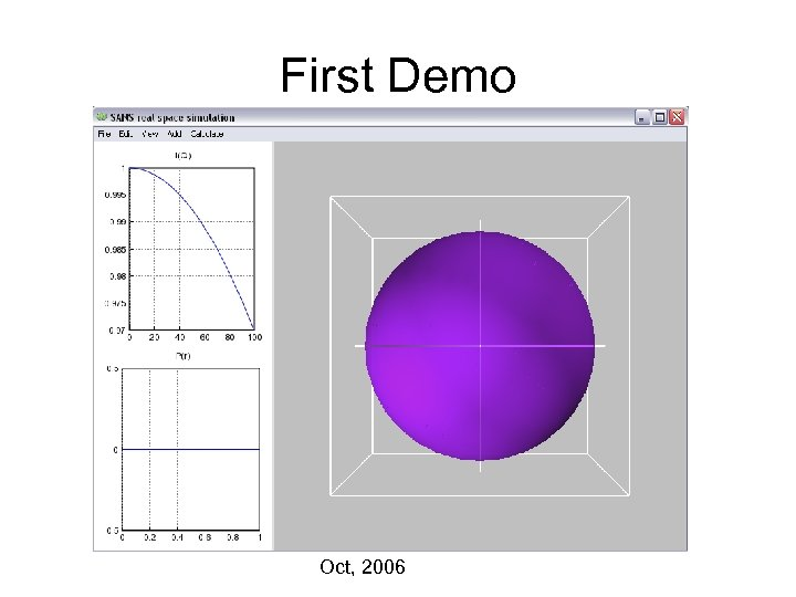 First Demo Oct, 2006