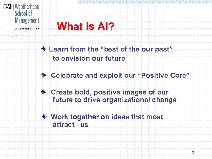 """What is AI? Learn from the """"best of the our past"""" to envision our"""