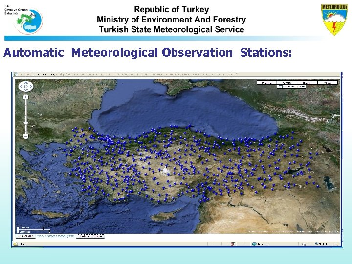Automatic Meteorological Observation Stations: