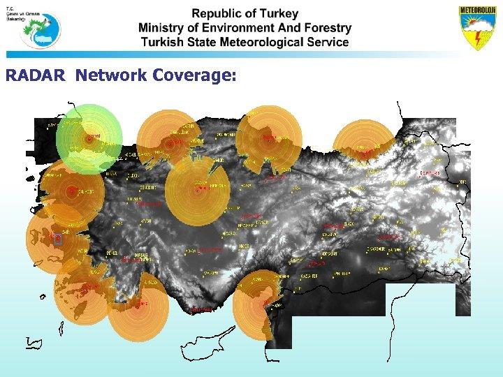 RADAR Network Coverage: