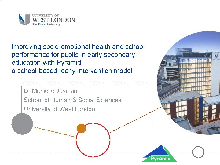 Improving socio-emotional health and school performance for pupils in early secondary education with Pyramid: