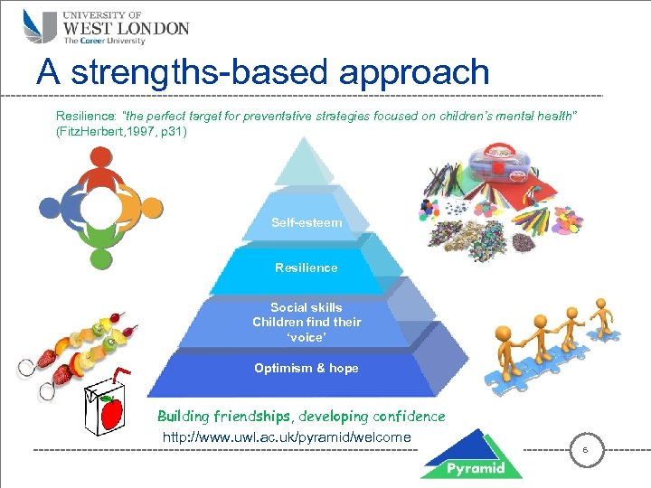 """A strengths-based approach Resilience: """"the perfect target for preventative strategies focused on children's mental"""