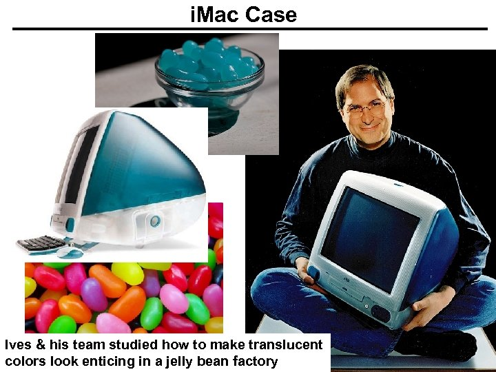 i. Mac Case Ives & his team studied how to make translucent colors look