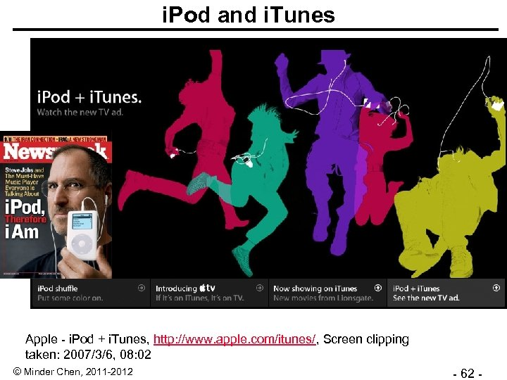 i. Pod and i. Tunes Apple - i. Pod + i. Tunes, http: //www.