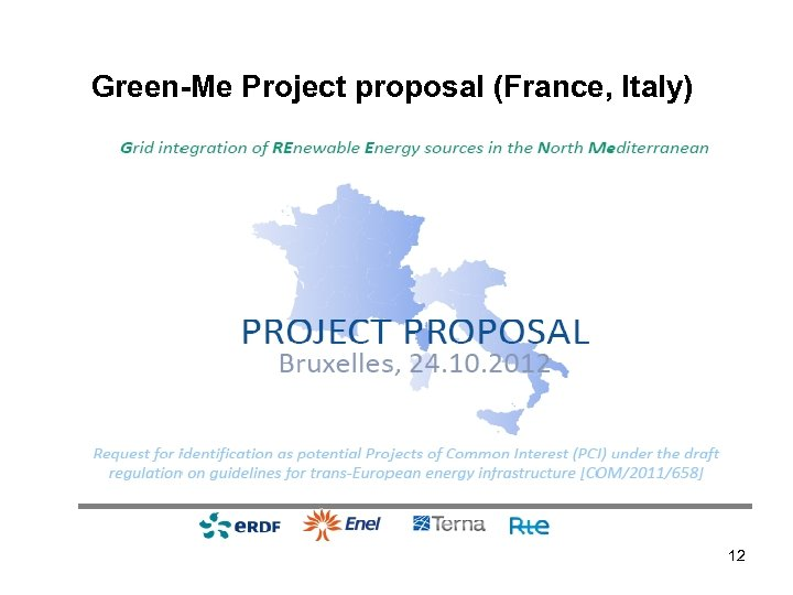 Green-Me Project proposal (France, Italy) 12