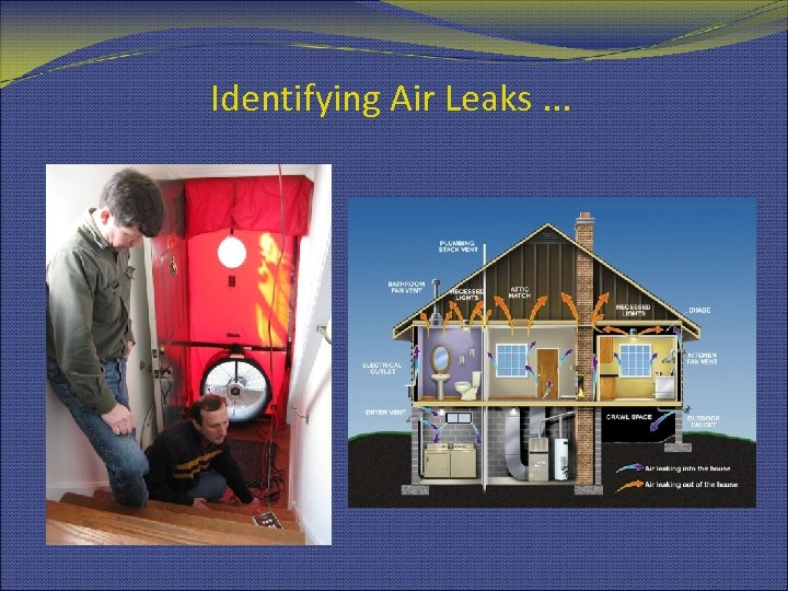 Identifying Air Leaks. . .