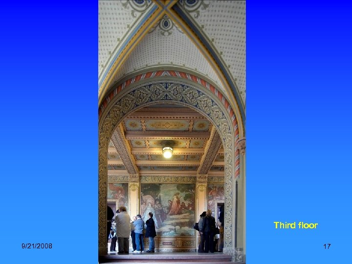 Third floor 9/21/2008 National Archives, Hungary. Music: Verdi-Trubadur (Gipsy chorus) 17