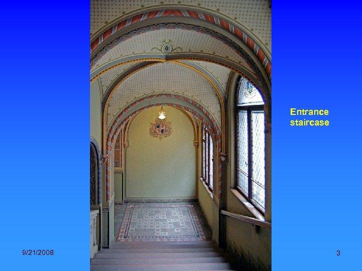 Entrance staircase 9/21/2008 National Archives, Hungary. Music: Verdi-Trubadur (Gipsy chorus) 3