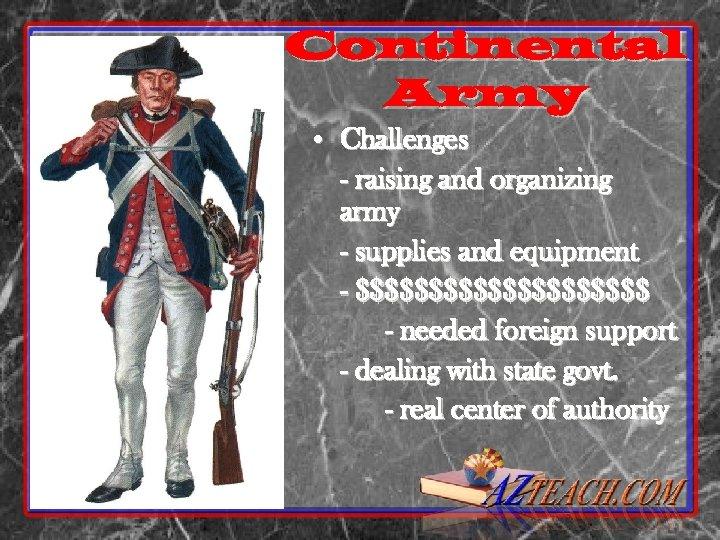The Revolutionary War Continental
