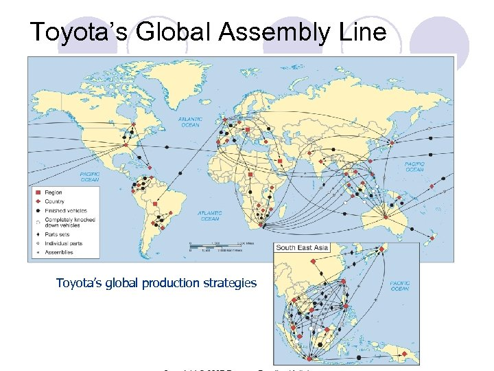Toyota's Global Assembly Line Toyota's global production strategies