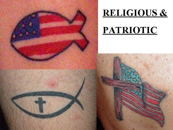 RELIGIOUS & PATRIOTIC