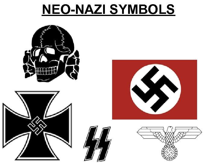 NEO-NAZI SYMBOLS