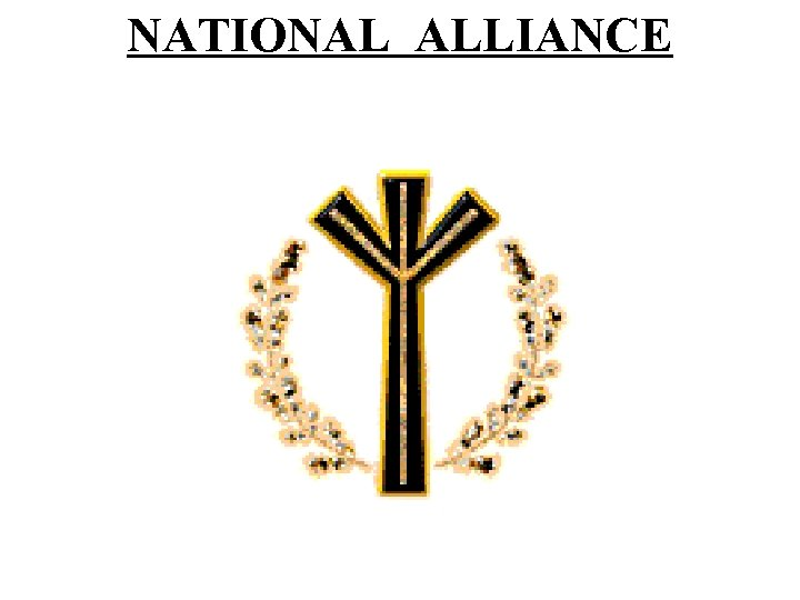 NATIONAL ALLIANCE