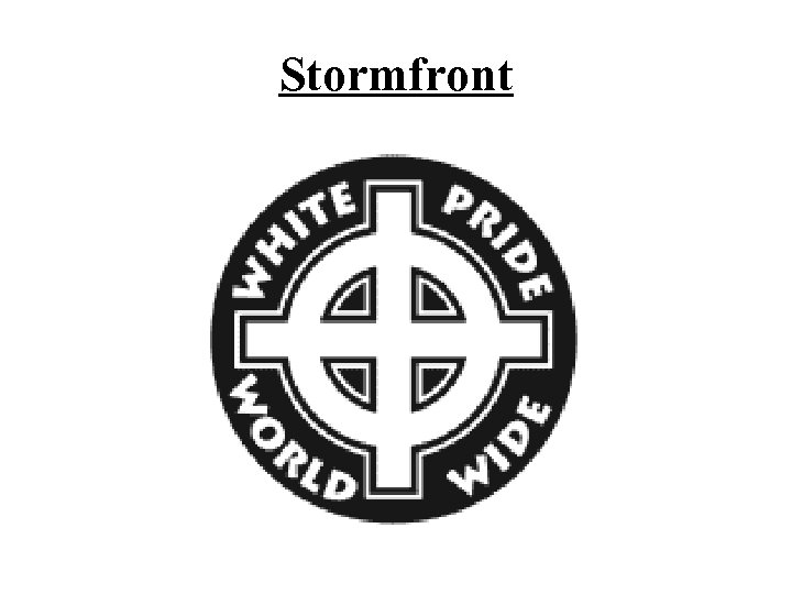 Stormfront
