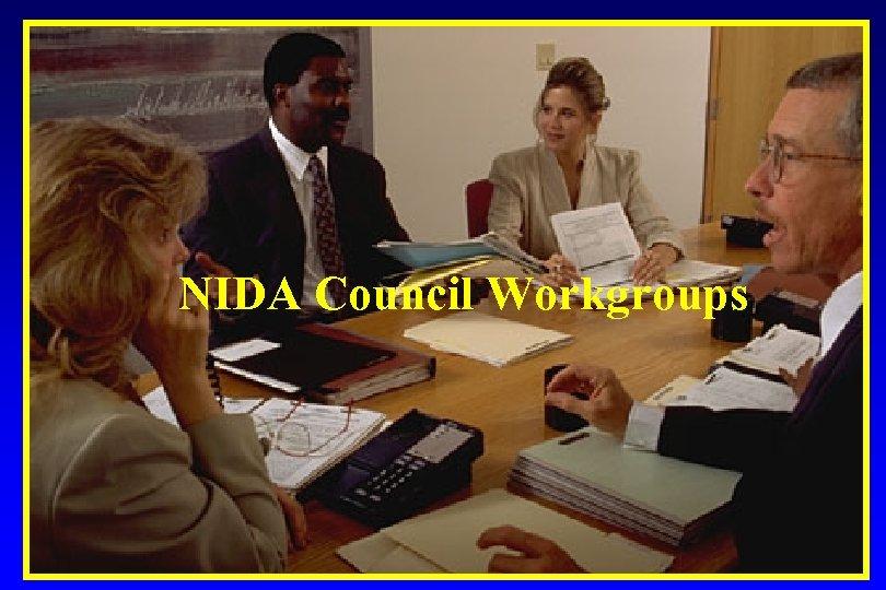 NIDA Council Workgroups