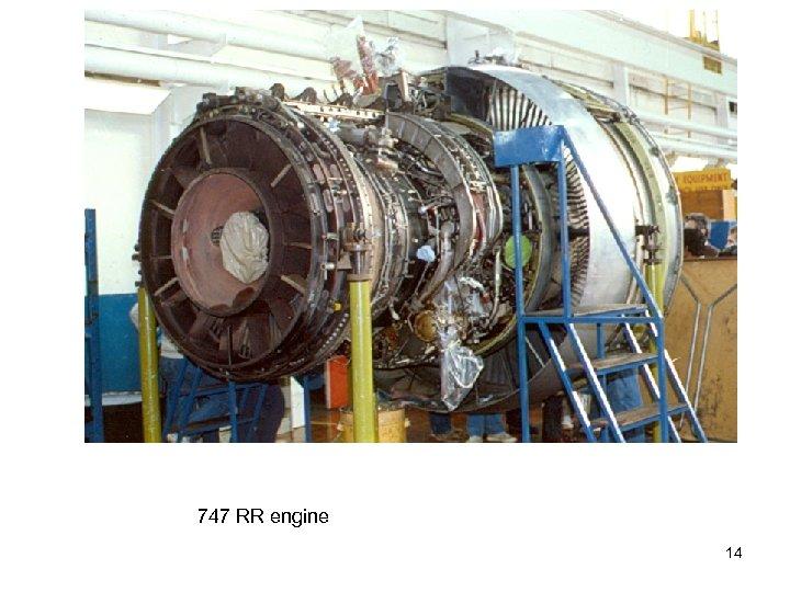 747 RR engine 14