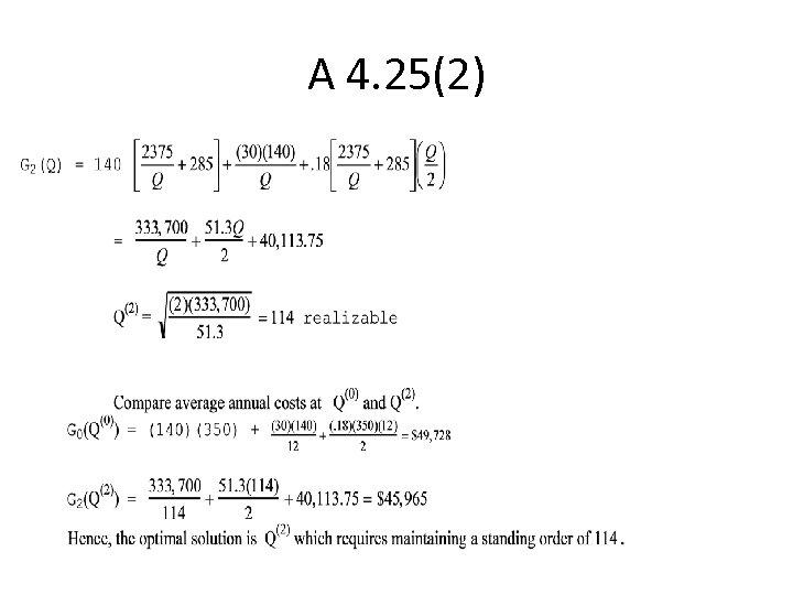 A 4. 25(2)