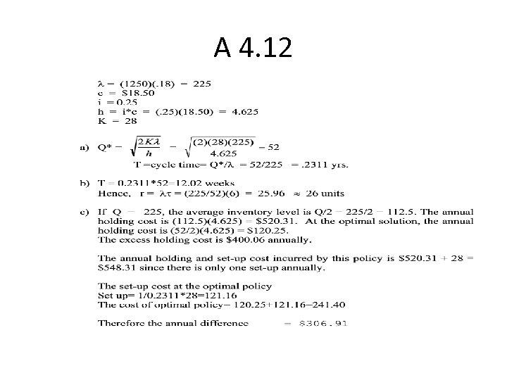 A 4. 12