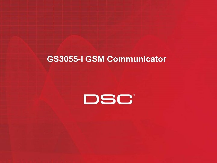 GS 3055 -I GSM Communicator