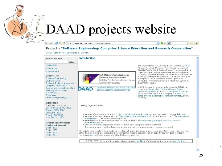 DAAD projects website 29