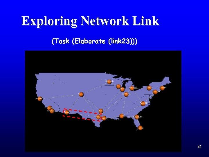 Exploring Network Link (Task (Elaborate (link 23))) 61