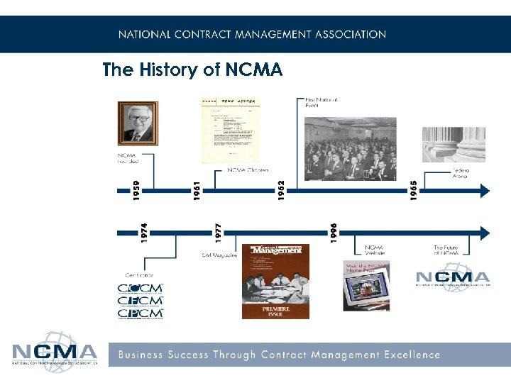The History of NCMA