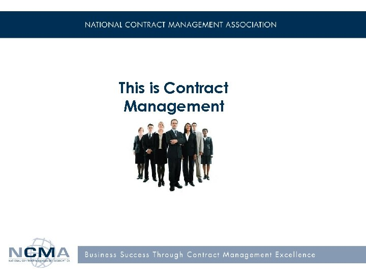 This is Contract Management !